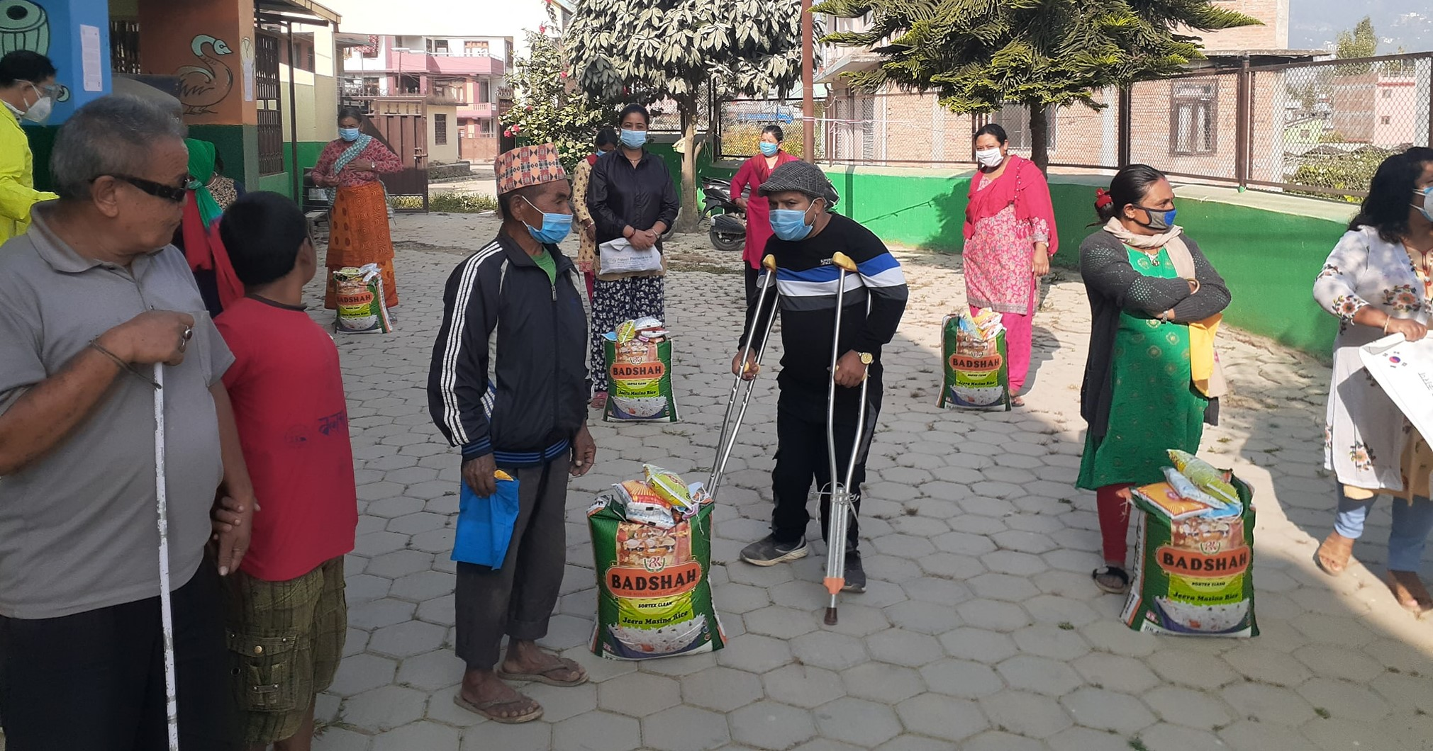 Relief distribution on covid-19
